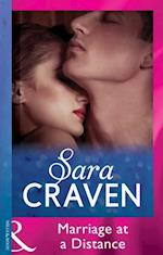 Marriage at a Distance (Mills & Boon Modern) af Sara Craven