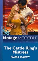 Cattle King's Mistress (Mills & Boon Modern) (Kings of the Outback, Book 1)
