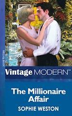 Millionaire Affair (Mills & Boon Modern) (Notting Hill Grooms, Book 3)