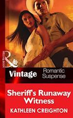 Sheriff's Runaway Witness af Kathleen Creighton