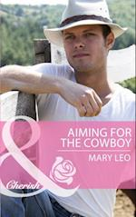 Aiming for the Cowboy (Mills & Boon Cherish) (Fatherhood, Book 42) af Mary Leo