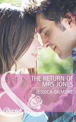 Return of Mrs Jones (Mills & Boon Cherish) af Jessica Gilmore