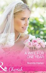 Wife for One Year