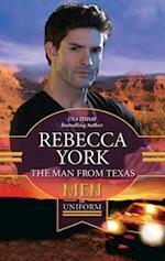 Man From Texas (Mills & Boon M&B) af Rebecca York