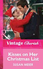 Kisses on Her Christmas List (Mills & Boon Cherish)