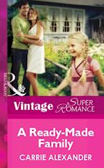 Ready-Made Family (Mills & Boon Vintage Superromance)