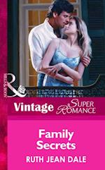 Family Secrets (Mills & Boon Vintage Superromance)