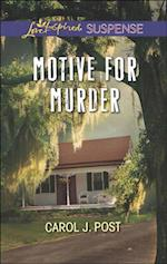 Motive for Murder (Mills & Boon Love Inspired Suspense) af Carol J. Post