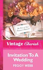Invitation To A Wedding (Mills & Boon Vintage Cherish)