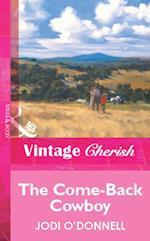 Come-Back Cowboy af Jodi O'Donnell