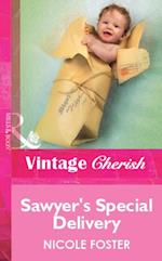 Sawyer's Special Delivery (Mills & Boon Vintage Cherish) af Nicole Foster