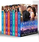 Chatsfield Collection Books 1-8: Sheikh's Scandal / Playboy's Lesson / Socialite's Gamble / Billionaire's Secret / Tycoon's Temptation / Rival's Challenge / Rebel's Bargain / Heiress's Defiance (Mills & Boon e-Book Collections)