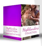 Highlanders Collection: Claimed by the Highland Warrior / The Highlander's Stolen Touch / Return of the Border Warrior / Highland Rogue, London Miss / Her Highland Protector / A Rose in the Storm / Highlander Claimed (Mills & Boon e-Book Collections) af Margaret Moore