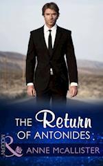 Return Of Antonides (Mills & Boon Modern) af Amanda Cinelli