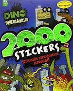 Dino Supersaurios 2000 Stickers (Dino Supersaurus)