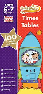 Gold Stars Times Tables Ages 6-7 Key Stage 1