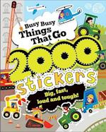 Busy Busy Things That Go 2000 Stickers af Parragon Books