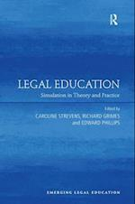 Legal Education af Caroline Strevens
