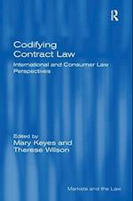 Codifying Contract Law (Markets And The Law)