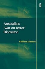 Australia's 'War on Terror' Discourse af Kathleen Gleeson