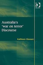Australia's 'war on terror' Discourse af Kathleen Gleeson