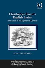 Christopher Smart's English Lyrics af Rosalind Powell