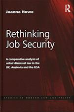 Rethinking Job Security (Studies in Modern Law and Policy)