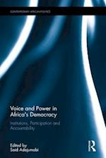 Voice and Power in Africa's Democracy (Contemporary African Politics)