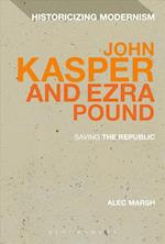 John Kasper and Ezra Pound af Alec Marsh