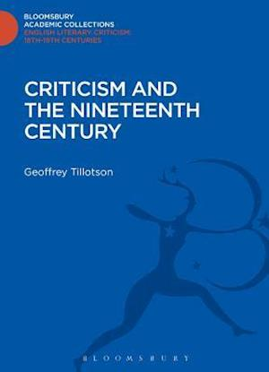 Criticism and the Nineteenth Century