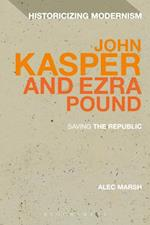 John Kasper and Ezra Pound af Alec Marsh