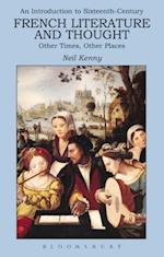 Introduction to 16th-century French Literature and Thought af Neil Kenny