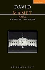 Mamet Plays: 6 (Contemporary Dramatists)