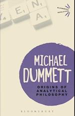Origins of Analytical Philosophy (Bloomsbury Revelations)