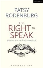 The Right to Speak af Patsy Rodenburg