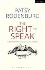 Right to Speak af Patsy Rodenburg