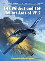 F4F Wildcat and F6F Hellcat Aces of VF-2 af Thomas McKelvey Cleaver
