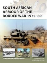 South African Armour of the Border War 1975-89 af Simon Dunstan, Kyle Harmse