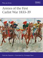 Armies of the First Carlist War 1833-39 (Men-At-Arms)