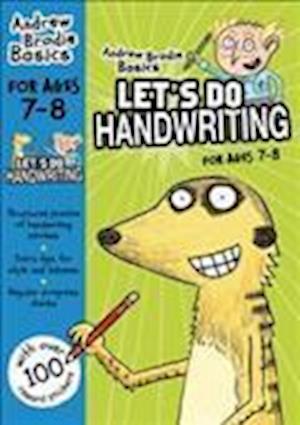 Let's do Handwriting 7-8