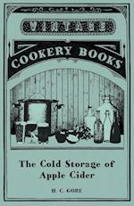 The Cold Storage of Apple Cider af H. C. Gore