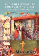 English Literature for Boys and Girls - Illustrated by John R. Skelton