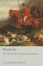 Rhubarb - The Diary of a Gentleman's Hunter