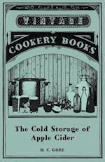 Cold Storage of Apple Cider af H. C. Gore