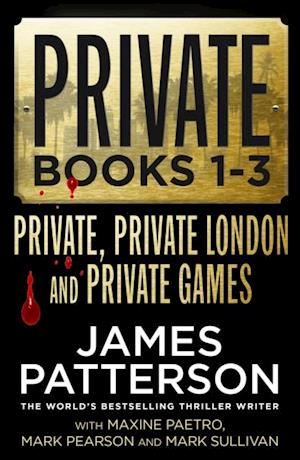 Private Books 1 - 3 af James Patterson