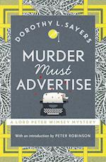 Murder Must Advertise (Lord Peter Wimsey Mysteries, nr. 10)