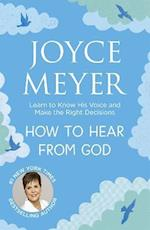 How to Hear From God af Joyce Meyer