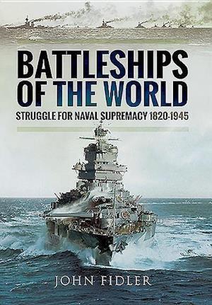 Bog, hardback Battleships of the World af John Fidler