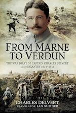 From the Marne to Verdun af Charles Delvert