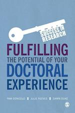 Fulfilling the Potential of Your Doctoral Experience (Success in Research)